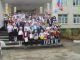 Первый школьный осенний праздник прошел 1 сентября в МКОУ СОШ №22.